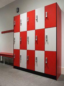 Standard 3 Door Lockers