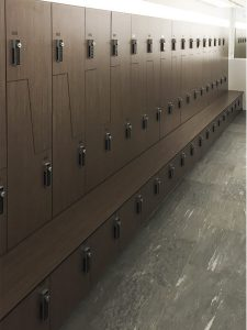 Z Lockers with Shoe Box Combo
