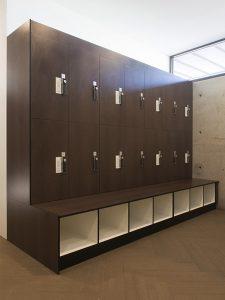 Combo Lockers with Shoe Box