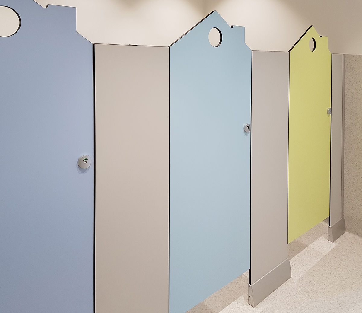 Flat Pack Toilet Cubicles Astonishing Toilet Dimension