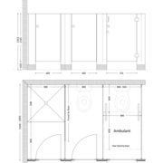 Kindy Cubicles Spec Drawing