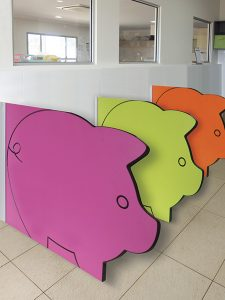 Elephants Kindy Modesty Panels