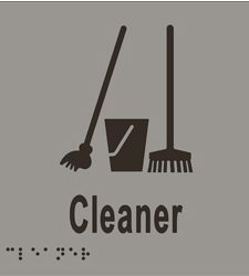 Cleaner - Braille