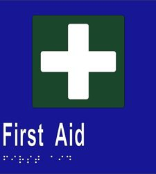First Aid - Braille