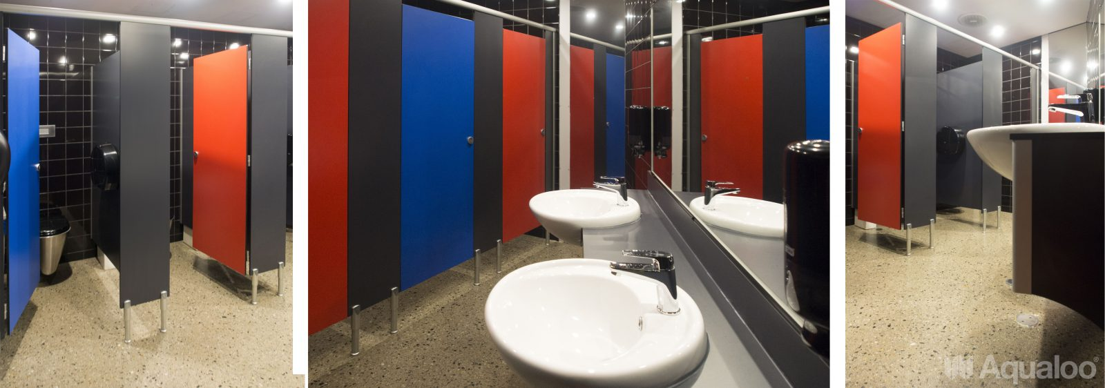 Compact Toilet Cubicles